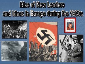 Chapter 29-Totalitarianism Powerpoint