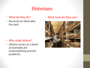 Mr. B`s Lecture Notes on History