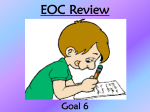 Goal 6 Review PPT