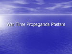 War Time Propaganda Posters