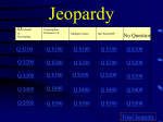 Jeopardy - jackson15
