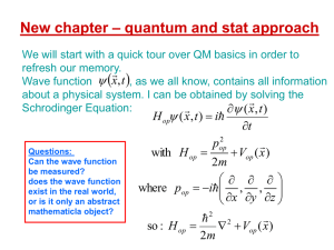 quantum and stat approach