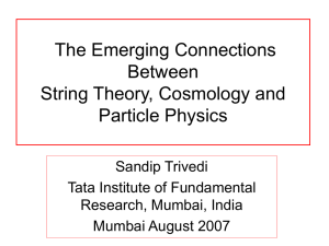 An Inflationary Model In String Theory