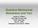 Quantum Mechanical Energy and You!