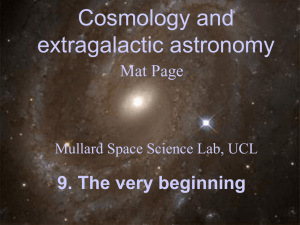9. The very beginning - Mullard Space Science Laboratory