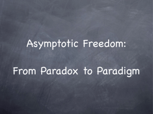 Asymptotic Freedom: From Paradox to Paradigm