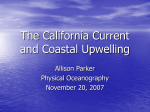 The California Current - Department of Marine and Coastal Sciences