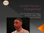 Common Ophthalmic Emergencies