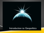 Introduction to Geopolitics PPT