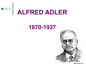 ALFRED ADLER - Mr. Chiorian