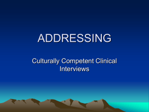 Cultivating Cultural Competence in Behavioral Health