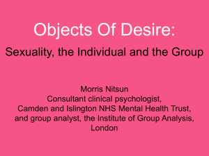 Desire - MAGPS: Mid-Atlantic Group Psychotherapy Society