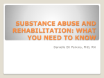 SUBSTANCE ABUSE AND REHABILITATION: WHAT YOU NEED …