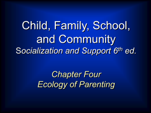 Parenting - Cengage Learning