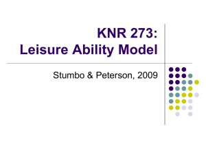 KNR 273: Session 4