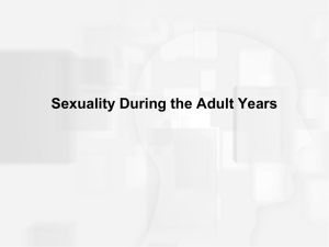 Sexuality in Adulthood