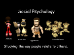 Unit Eleven - Social Psychology