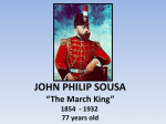 John Philip Sousa PPT Example