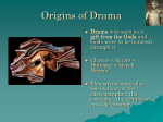 Greek Drama - Shoreline School District