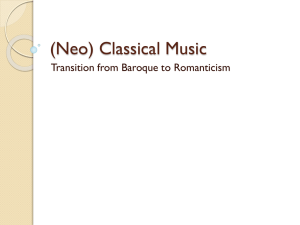 (Neo) Classical Music - Fort Thomas Independent Schools