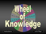 How to play Wheel of Knowledge