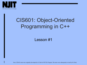 The Introduction to Object