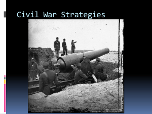 Civil War Strategies