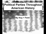 Political Parties Throughout American History