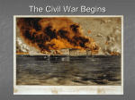 The Civil War Begins - Johnston County Schools