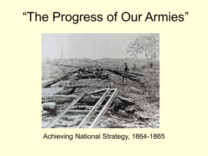 """The Progress of Our Armies"""