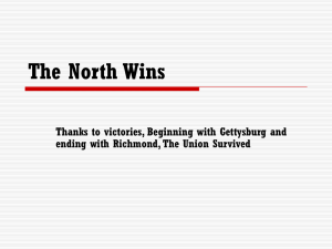 The North Wins 17-3