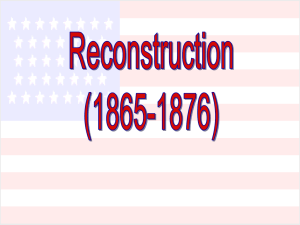 Reconstruction (1865