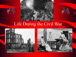 Life During the Civil War PP