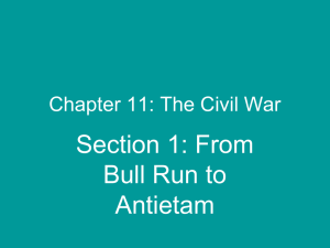 Chapter 11: The Civil War