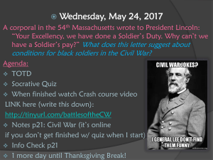 Civil War Notes p21 - Henry County Schools