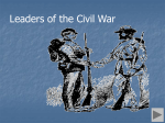 Civil War Leaders - Doral Academy Preparatory