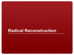 Radical Reconstruction and Civil War Amendments