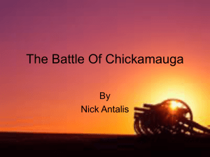 The Battle Of Chickamauga - ushistory