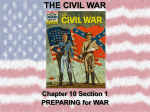 the civil war - AHHS Support for Student Success