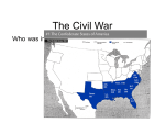 The Civil War - RedLionWorldHistory