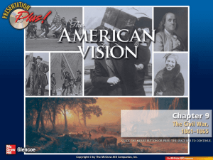 The American Vision - History With Mr. Wallace