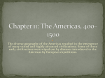 Chapter 11: The Americas, 400–1500
