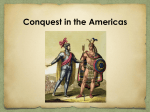 Encounters in the Americas - Ms. Belur's World & US History