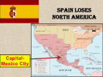 Spain Loses North America ppt.