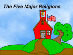 The Five Major Religions - Kentucky Department of Education