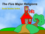 The Five Major Religions