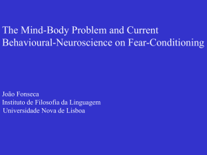 The Mind-Body Problem and Current Behavioral