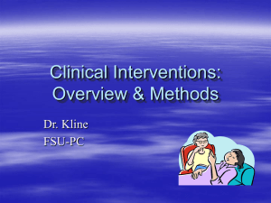 Clinical Interviews: Overview & Methods
