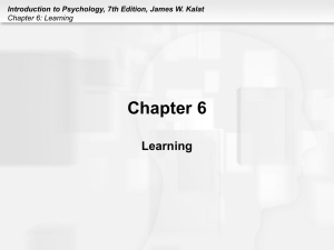 Chapter 6 Learning