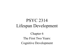 PSYC 2314 Chapter 6